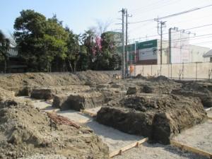 基礎掘削 (1)
